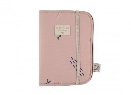 Protège-carnet de santé Poema A5 24x18 blue secrets/ misty pink