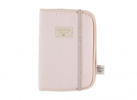 Protège-carnet de santé A5 Poema • nid d'abeille dream pink