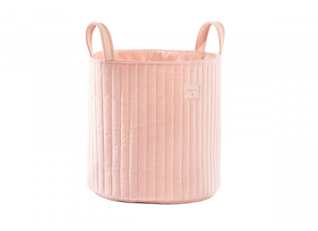 Savanna velvet toy bag bloom pink