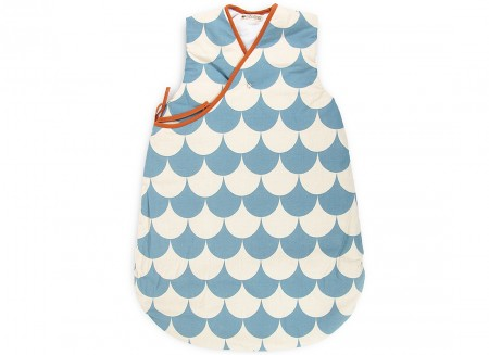 Gigoteuse Montreal blue scales - taille large