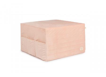 Lit d'appoint pliable Sleepover • velvet bloom pink