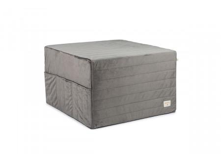 Lit d'appoint pliable Sleepover • velvet slate grey
