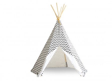Tipi Arizona zigzag black
