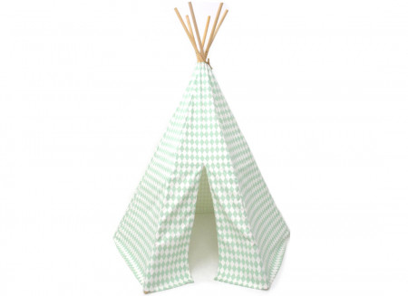 Tipi Arizona • green diamonds