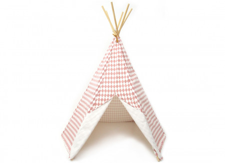 Tipi Arizona 158x128 losanges roses