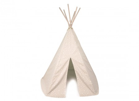 Tipi Arizona sand white stars