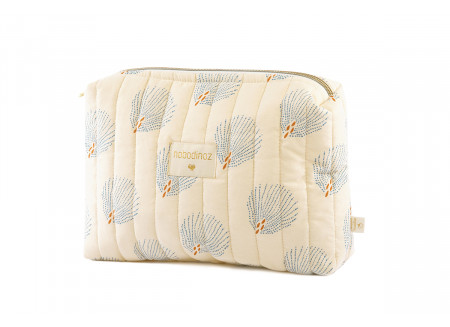 Trousse de toilette Travel blue gatsby cream