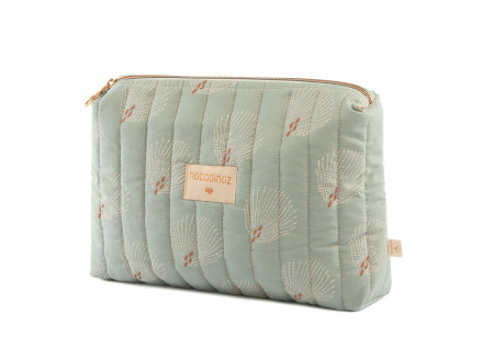 Trousse de toilette Travel white gatsby antique green