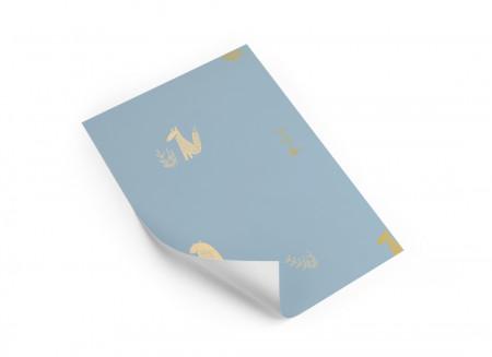 Échantillon de papier peint • Jon & June blue
