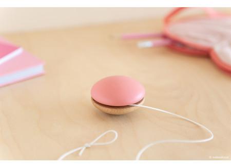 Yoyo en bois • pink