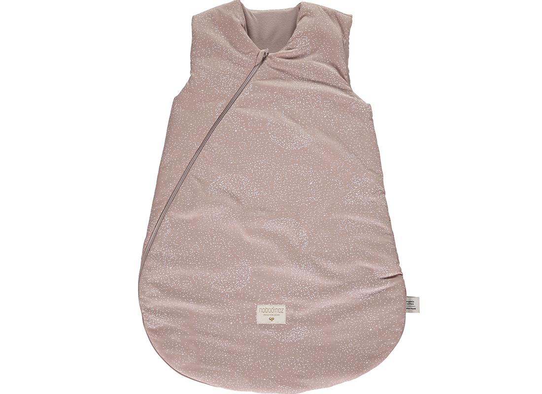 Gigoteuse de mi-saison Cocoon white bubble misty pink - 2 tailles