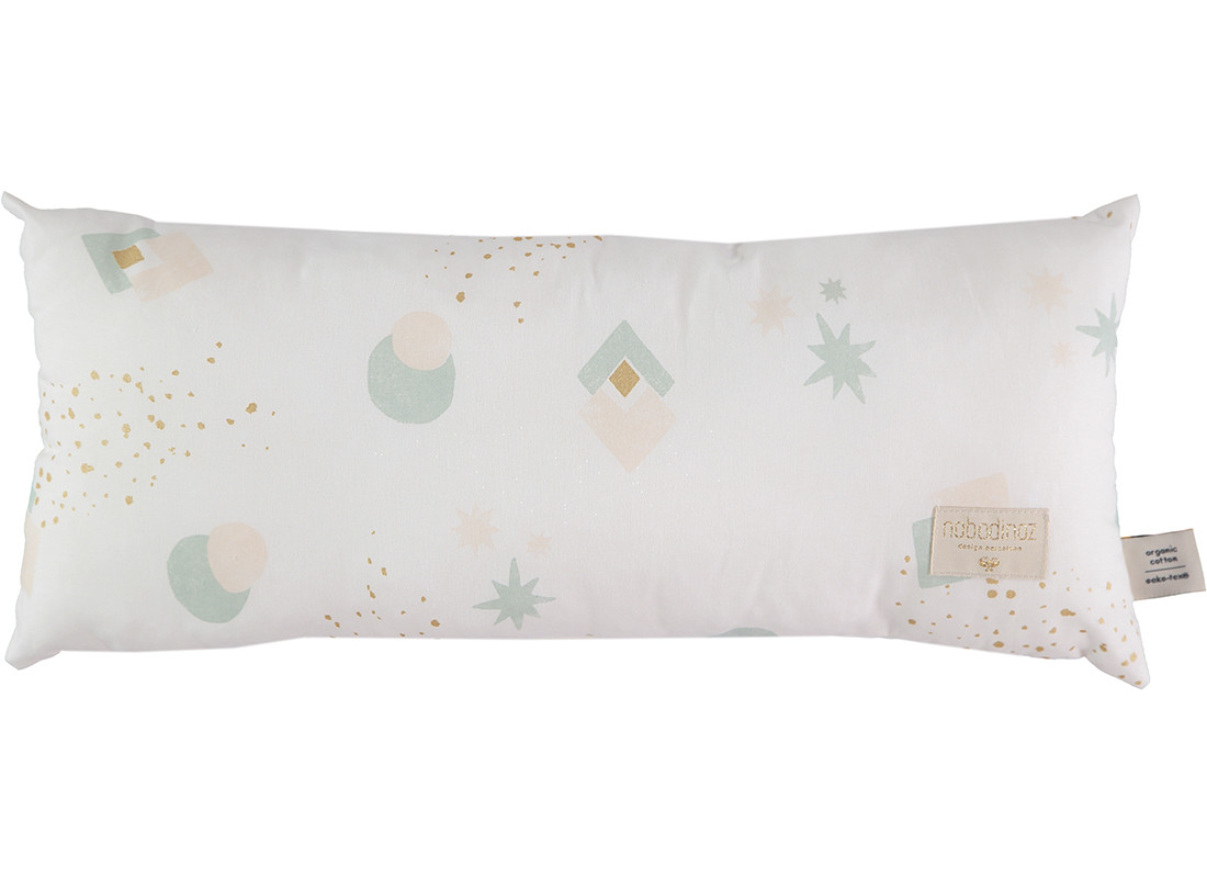 Coussin Hardy aqua eclipse white