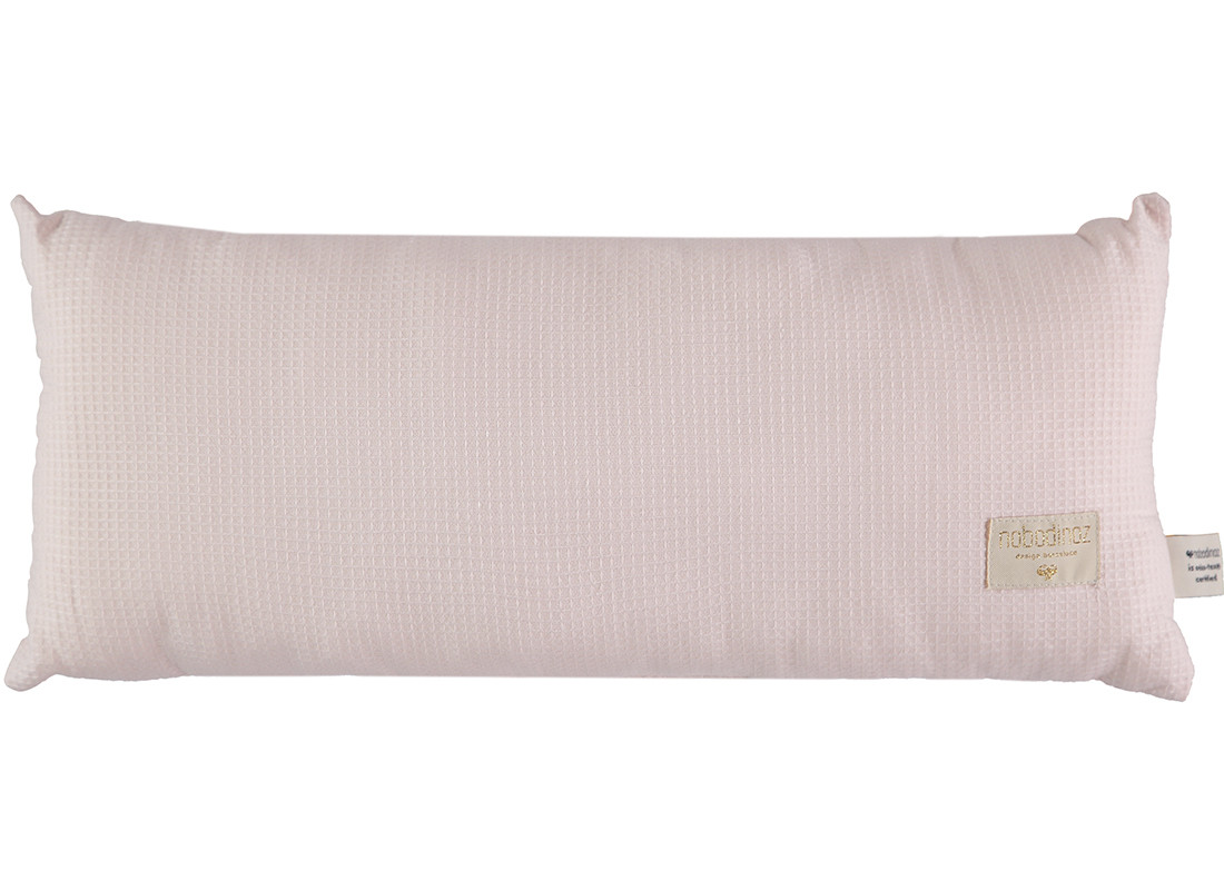 Coussin Hardy nid d'abeille 22x52 dream pink