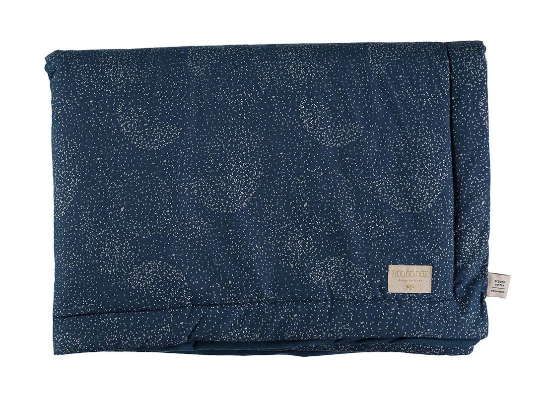 Couverture Laponia gold bubble/ night blue - 2 tailles