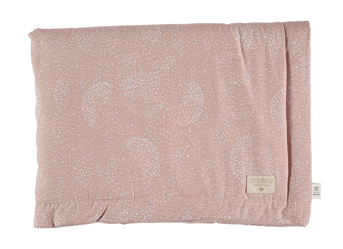 Couverture Laponia white bubble/ misty pink - 2 tailles