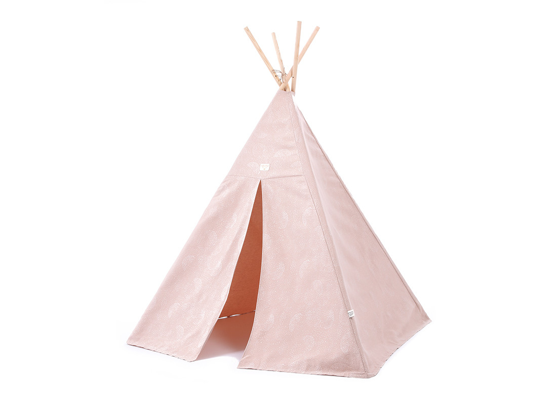 Tipi Phoenix 149x100 white bubble/ misty pink