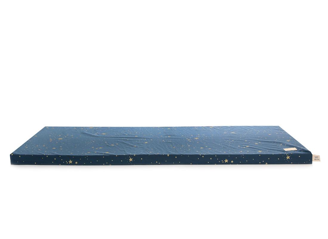 Matelas de sol Saint Barth 60X120X4 gold stella/ night blue
