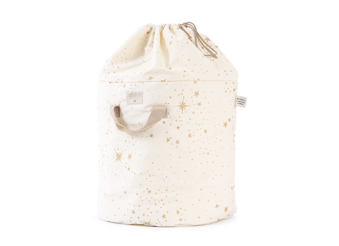 Sac à jouets Bamboo gold stella/ natural - 2 tailles