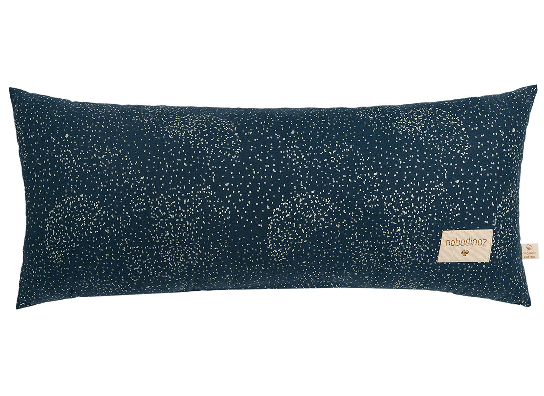 Coussin Hardy • gold bubble night blue