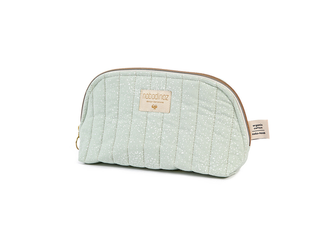 Trousse de toilette Holiday white bubble aqua - 2 tailles