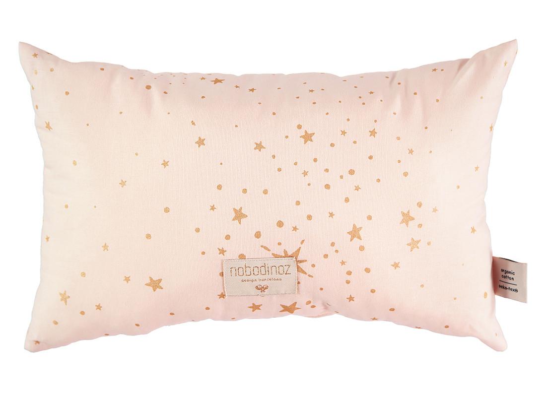 Coussin Laurel gold stella dream pink