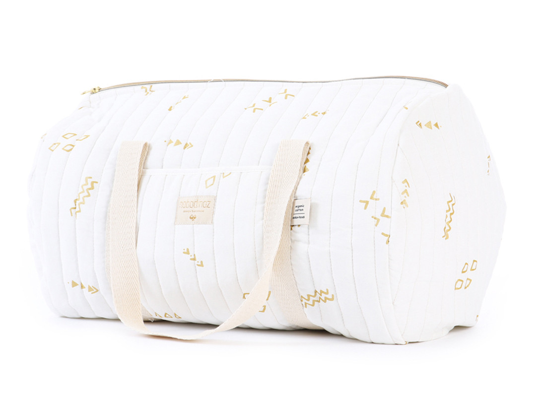 Sac weekend New York 30x45x30 gold secrets/ white