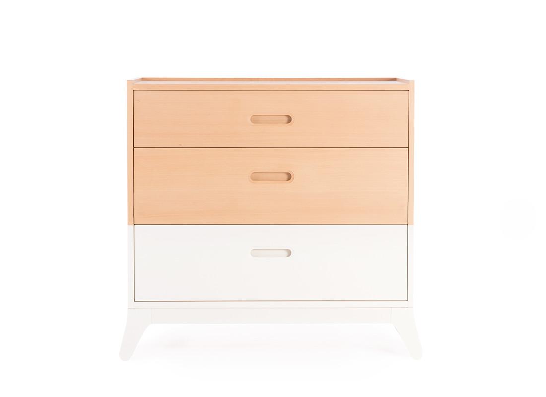 Commode 3 tiroirs - New Horizon 50x94x85
