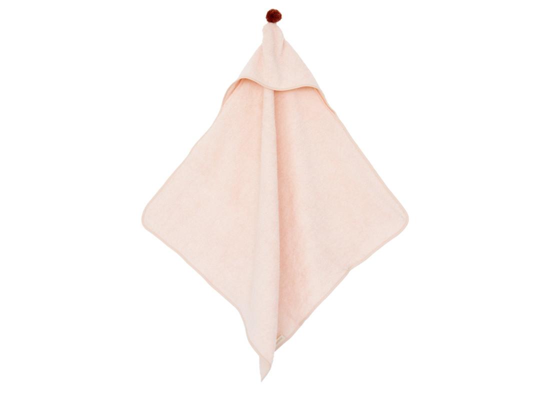 Cape de bain bébé So Cute 73x73 pink