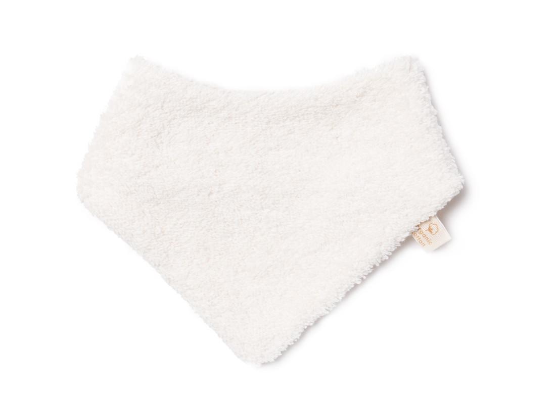 Bavoir bandana nouveau-né So Cute 14x20 natural